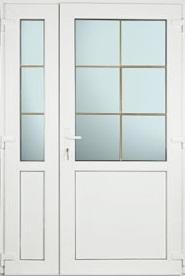 vrata sa staklom