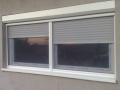 dvokrilni prozor sa roletnom